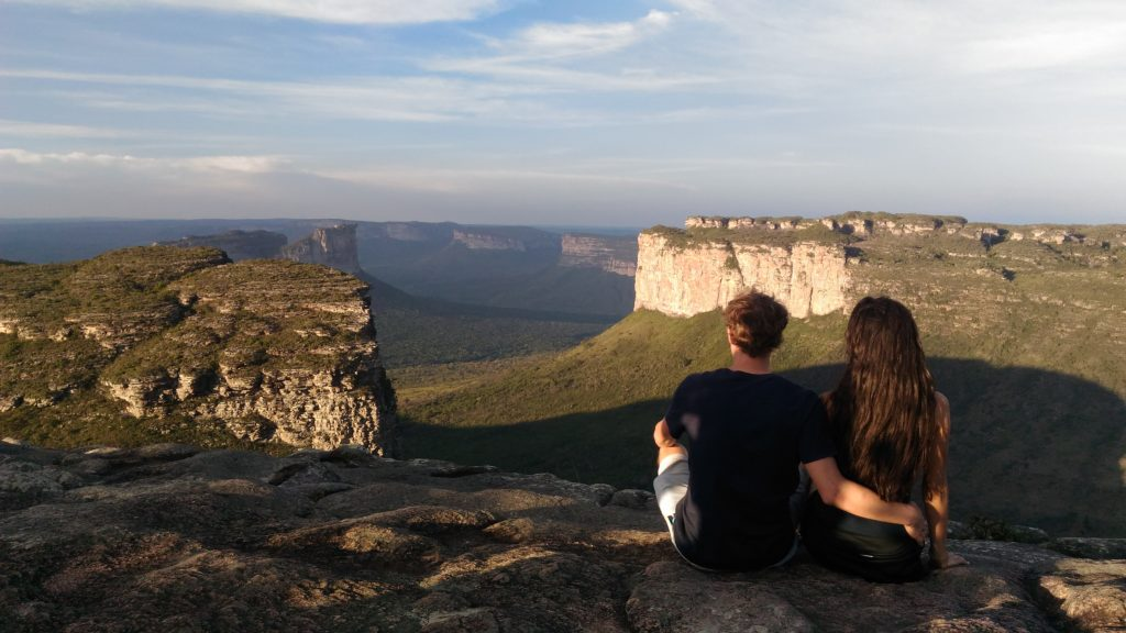 casal no Morro do Pai Inácio, Chapada diamantina
