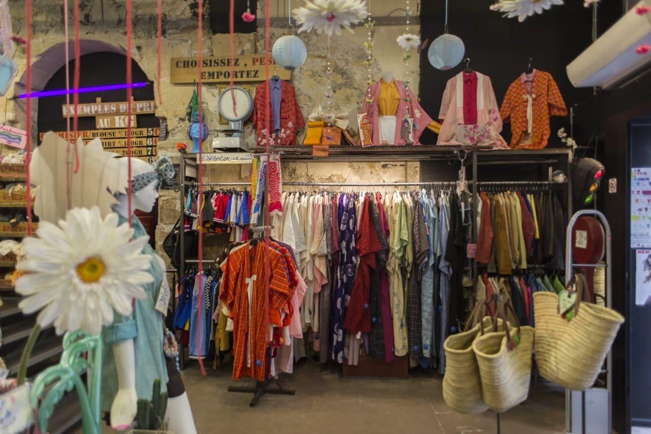 kilo shop brechó em Paris