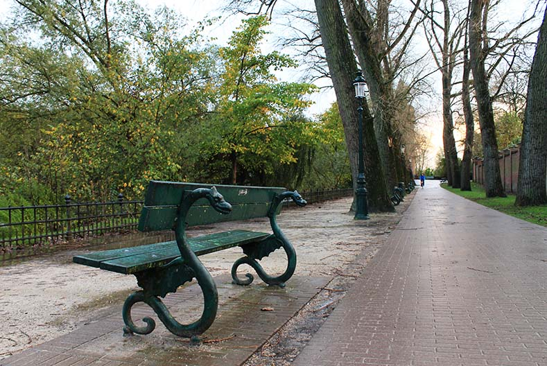 Parque em Bruges na Bélgica