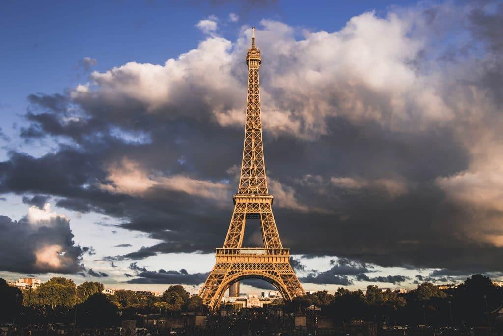 Historia da Torre Eiffel em Paris