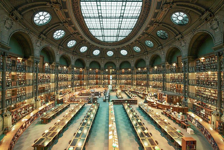 Biblioteca Nacional da França bibliotecas antigas