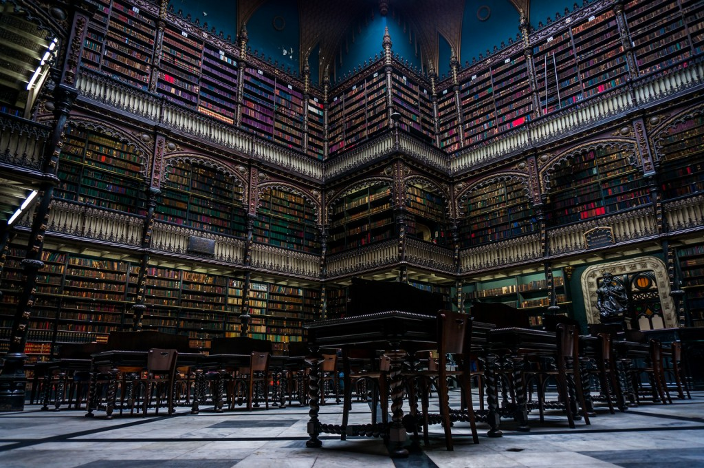 Biblioteca Real Gabinete Português de Leitura, Brasil bibliotecas antigas