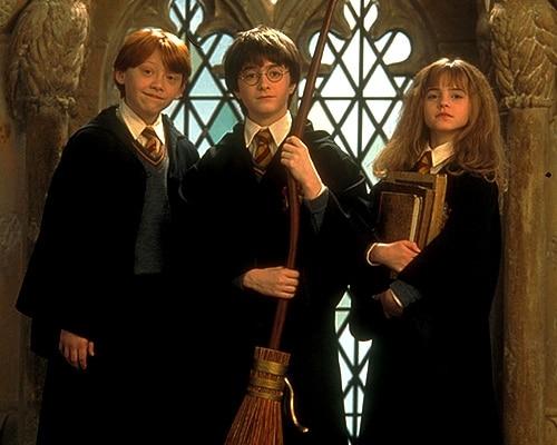 Exposição Harry Potter em Paris harry, rony, hermione