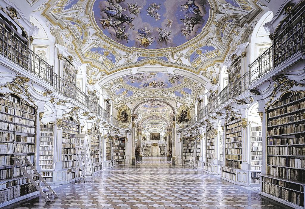 Biblioteca do Mosteiro de Admont, Áustria bibliotecas antigas