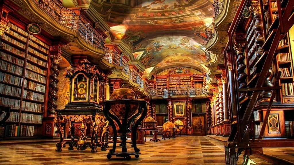 Biblioteca Nacional da República Tcheca bibliotecas antigas