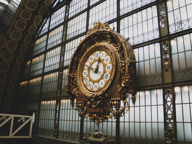Relógio do museu de Orsay