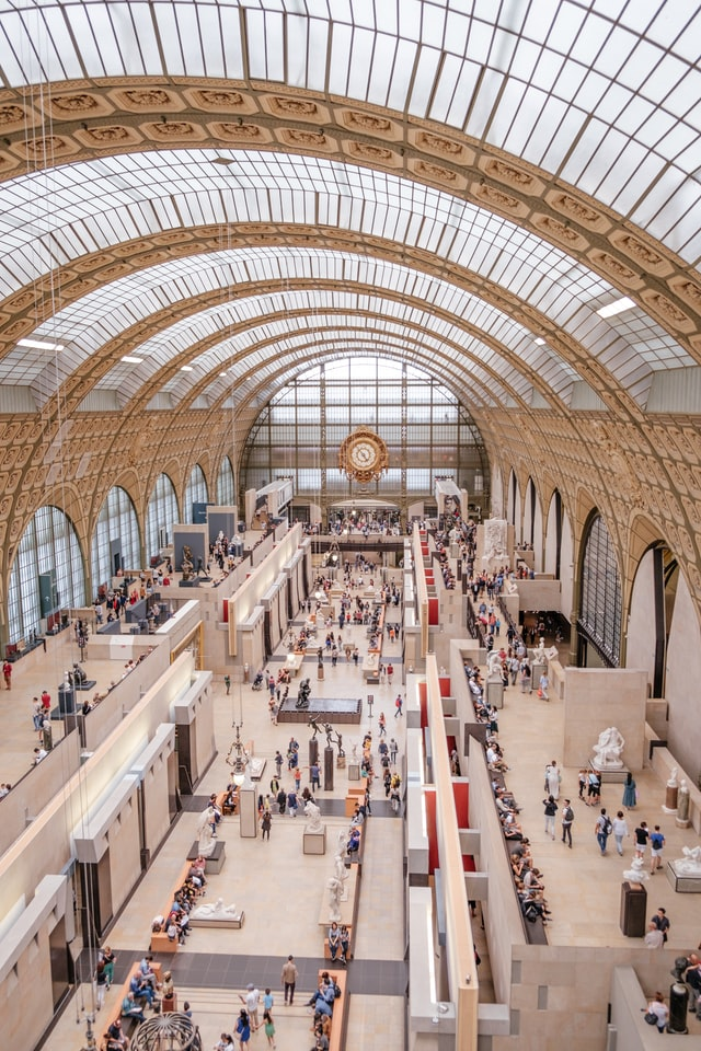 Vista do museu de Orsay