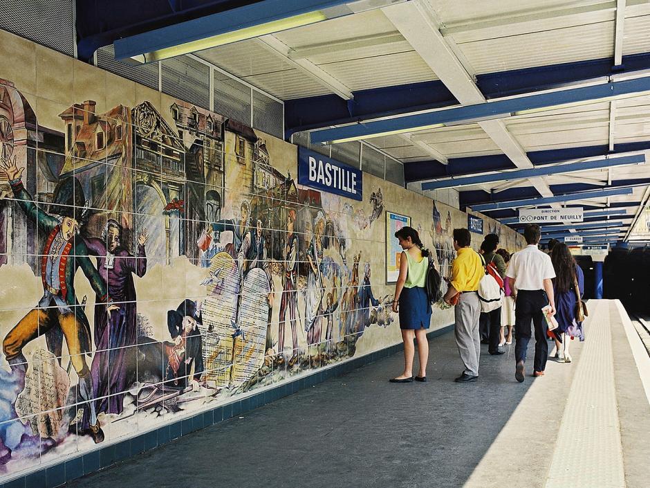estações de metrô
