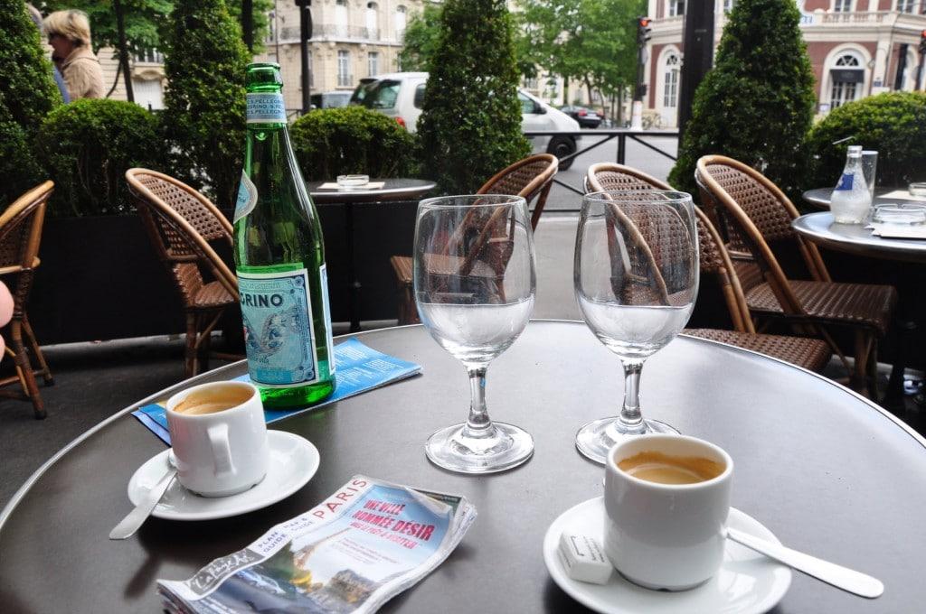 café a 1 euro em Paris
