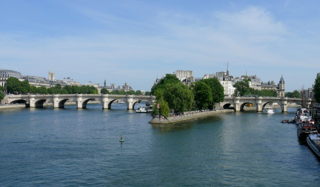 pontes mais bonitas de Paris