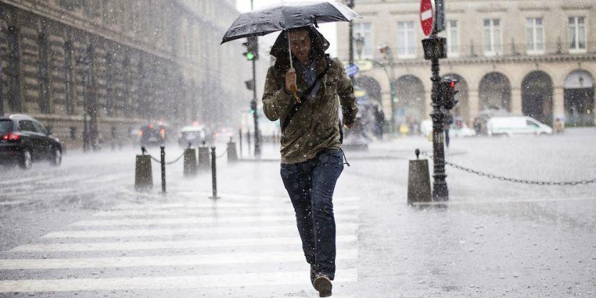 Paris quando estiver chovendo