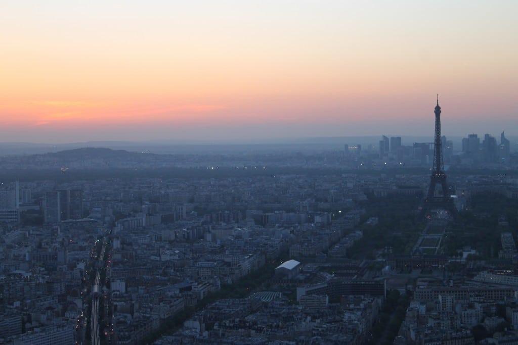 Torre de Montparnasse em Paris