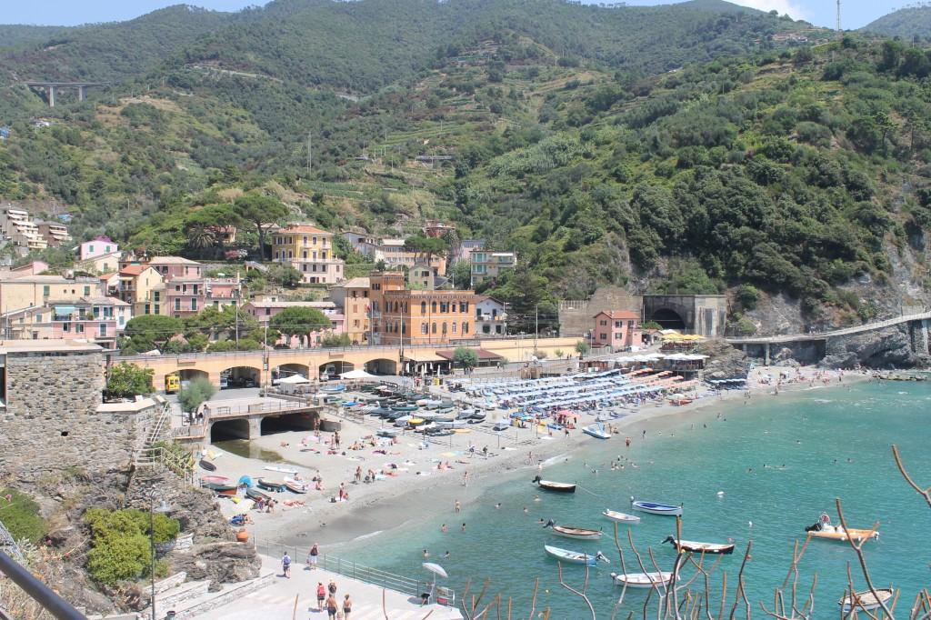 monterosso cinque terre na itália