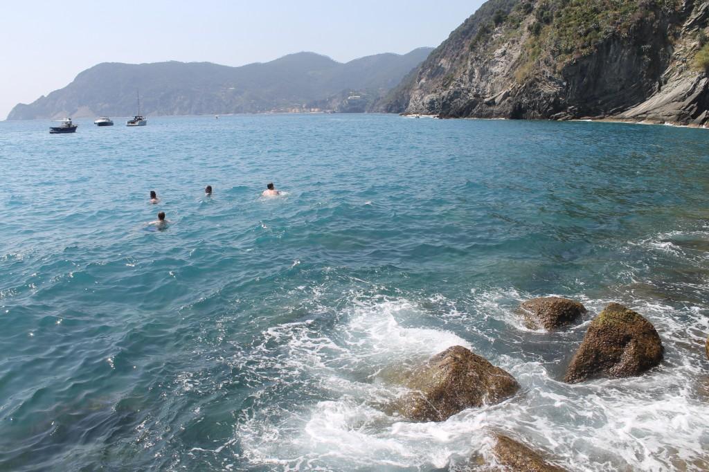 mar de vernazza cinque terre na itália