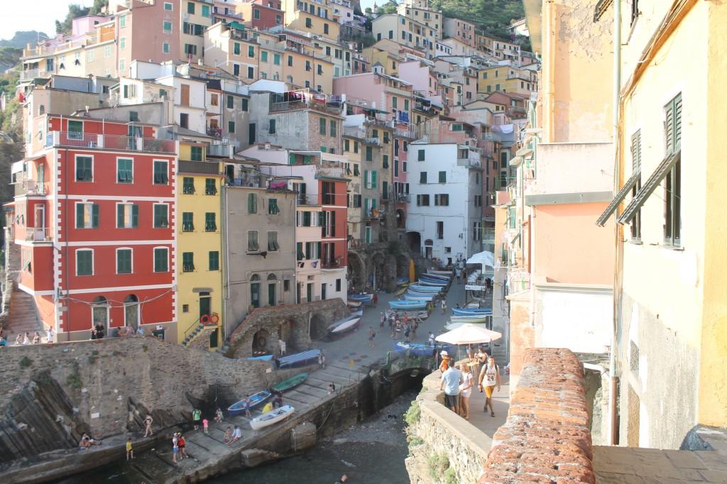riomaggiore cinque terre na itália