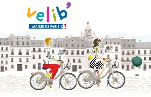 velib bicicletas publicas em Paris
