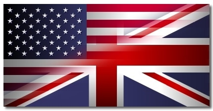 inglês americano e o britânico