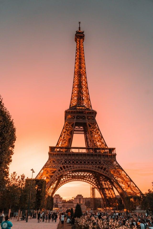 andar em Paris