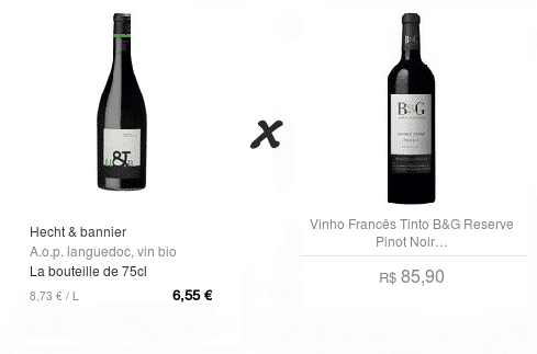 vin x vinho
