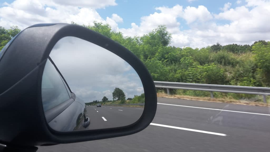pe na estrada