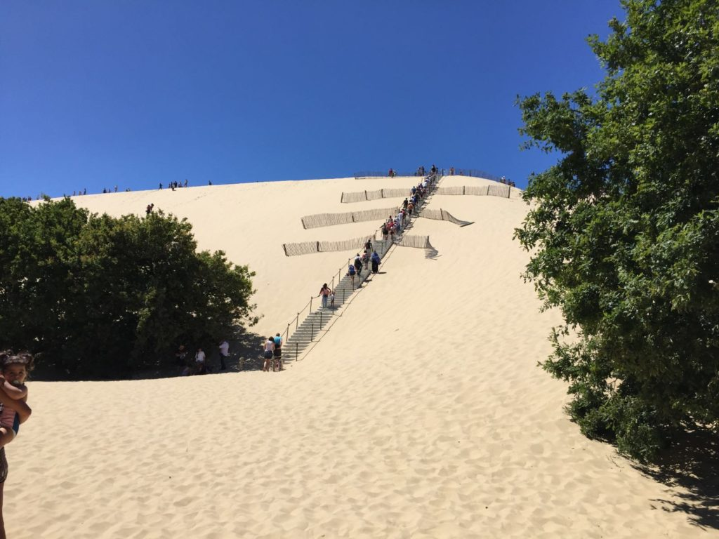 subindo duna