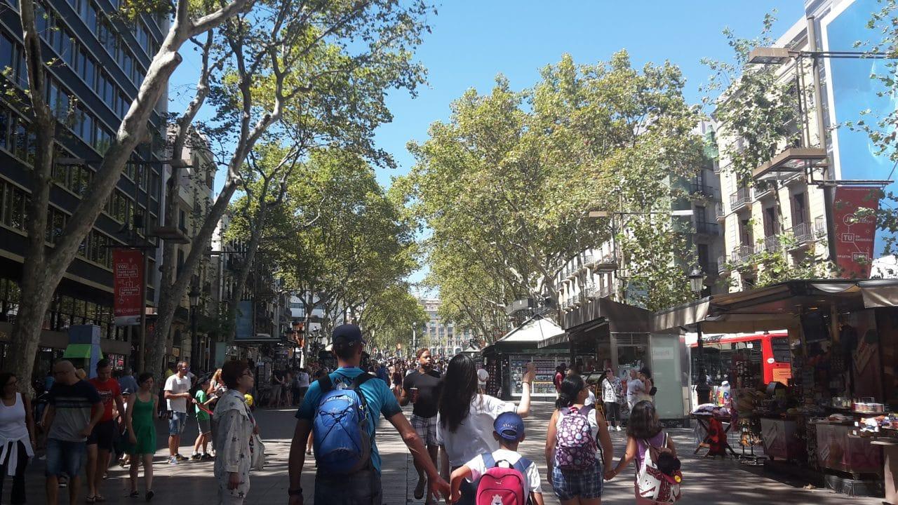 Barcelona à pé