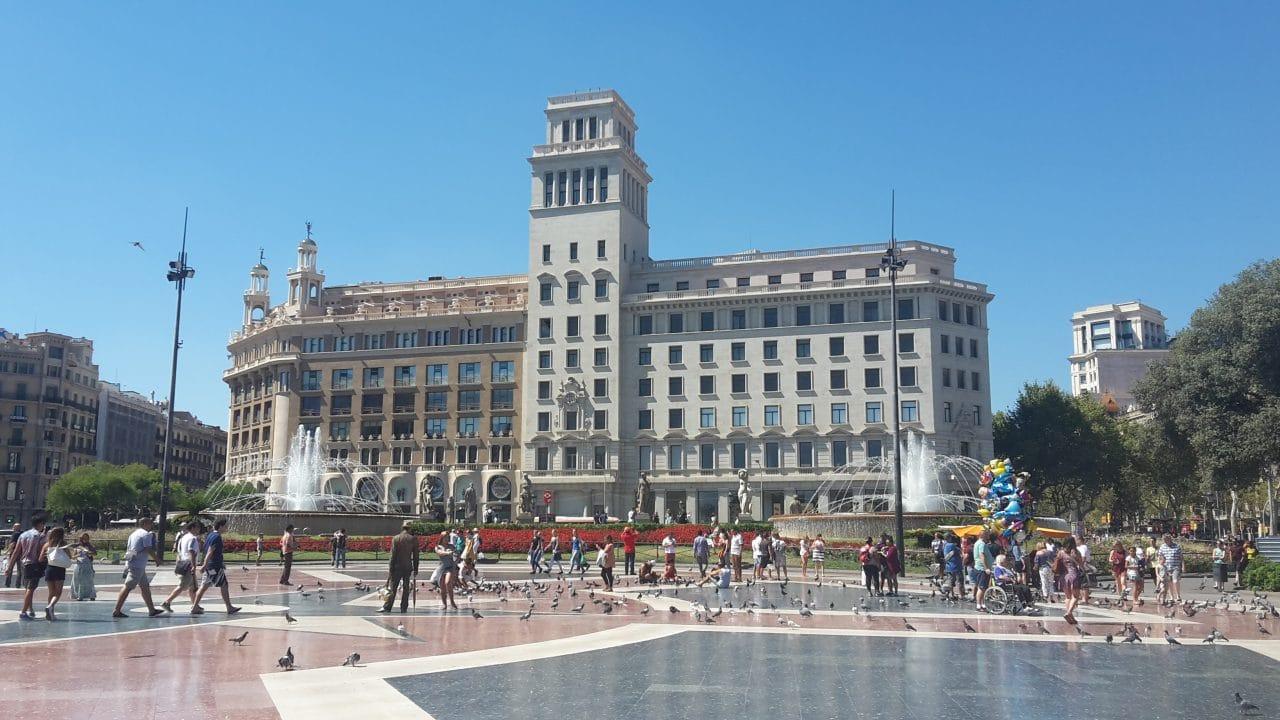 Barcelona a pe