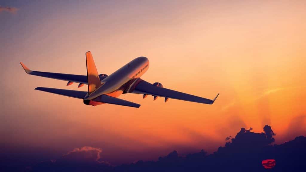 voos de longa distancia
