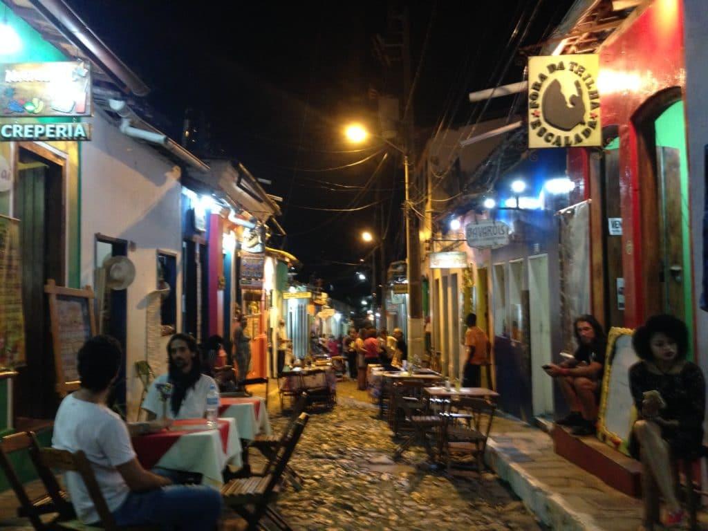 Chapada diamantina, noite em Lençóis, Bahia