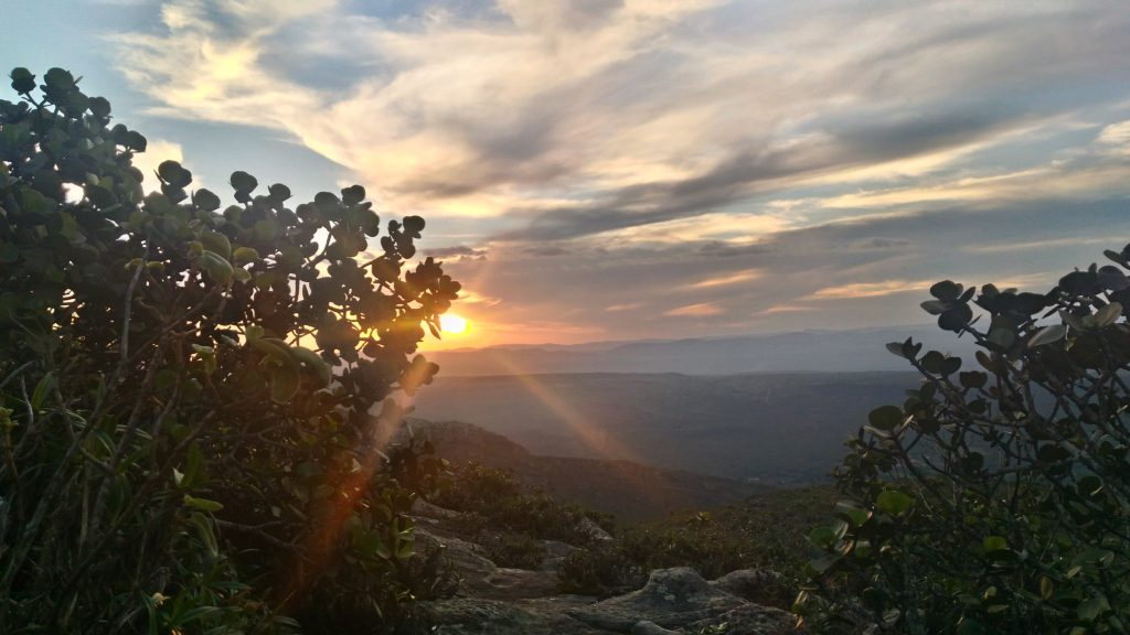 por-do-sol no morro do pai inácio, Chapada diamantina
