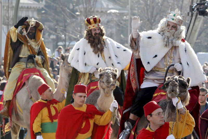 dia de Reis na Espanha