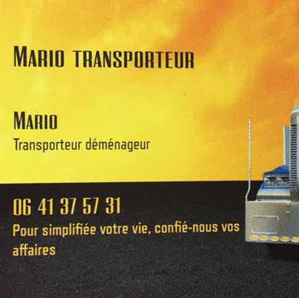 mario transporteur frete e mudança em paris