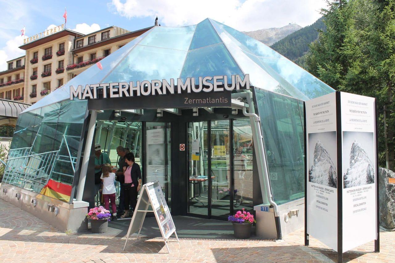 Matterhorn museum em Zermatt na Suíça