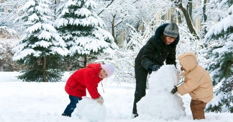 atividades de inverno