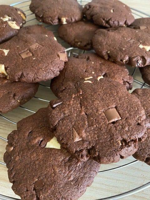 cookies de chocolate