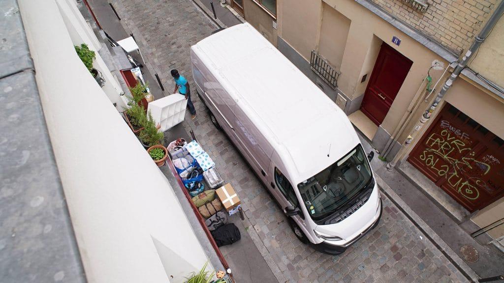 Mudança barata em Paris