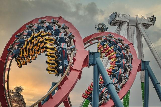 parques de diversões nos Estados Unidos