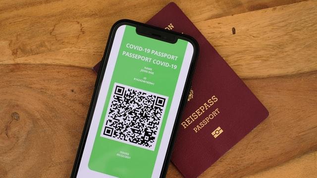 Passaporte sanitário na Europa