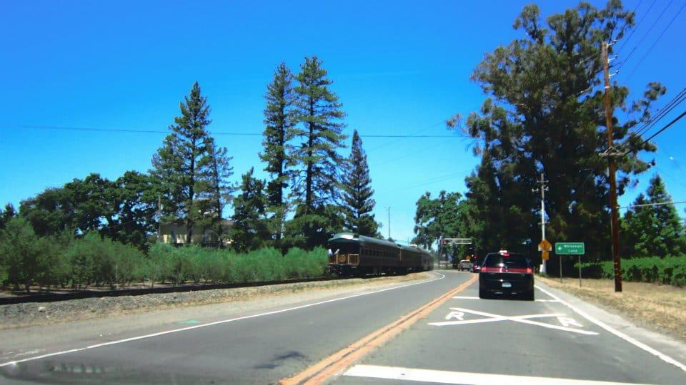 Trem em Napa Valley